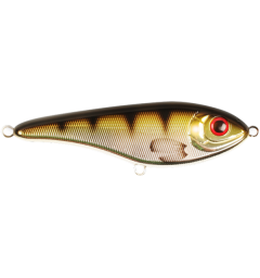 Strike Pro Baby Buster Jerk Metallic Perch - 10cm/25g C606E
