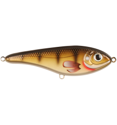 Strike Pro Buster Jerk II 15cm Suspending, 75g, Natural Walleye