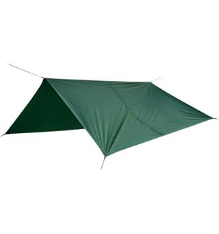 Bergans Tarp Large 4,4 x 4,4m Fleksibel tarp for enkel overnatting